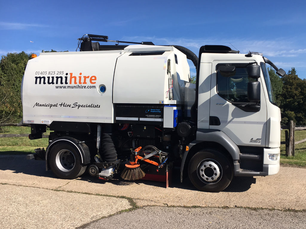 road sweepers hire essex